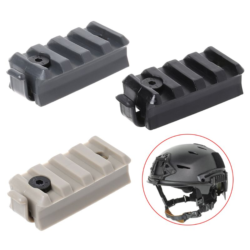 1 Pc Tactical Helmet Adapter Guide Rail Accessories Connector Outdoor Hunting Tackle Helm Mount For FAST ACH MICH IBH