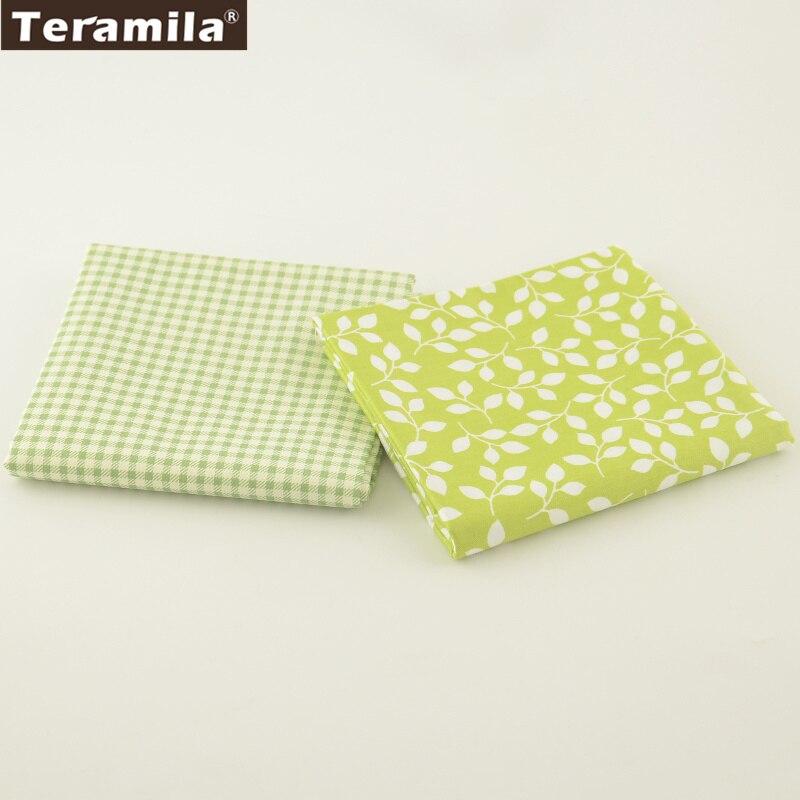 Hojas de estilo 2 unids/lote teramila tela 100% sarga de algodón de alta calidad