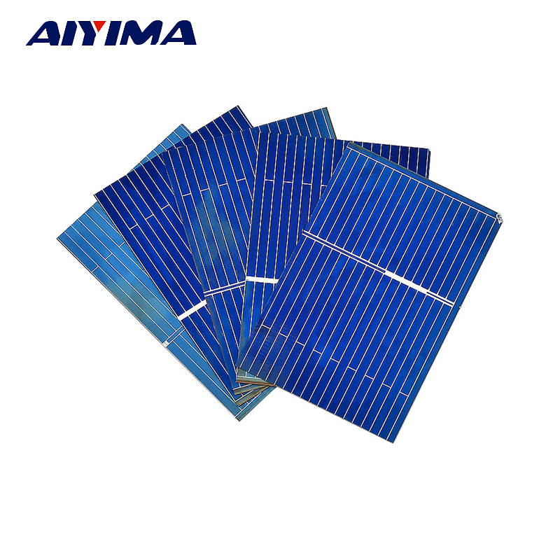 Power Source Enthusiastic 1pc X 12v 2w Solar Panel Portable Mini Sunpower Diy Module Panel System For Solar Lamp Battery Toys Phone Charger Solar Cells Discounts Price