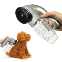 Electric Pet Dog Vacuum Hair Fur Remover Puppy Vac Fur Cleaner TrimmerGrooming Tool Pet Cat Beauty