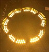 Comprar Árbol Rgb Led lámpara de paisaje anillo de medidor de VUs Led iluminación al aire libre