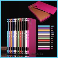 Luxury Aluminum Alloy Frame With Back Cover Metal Case For Sony Xperia Z3 D6603 D6633 Mobile