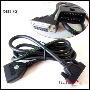 Image 1 - for Launch X431 GDS 3G DLC Main Cable CRP123 Creader VII+ Creader VIII CRP129 OBD I II Test Cable