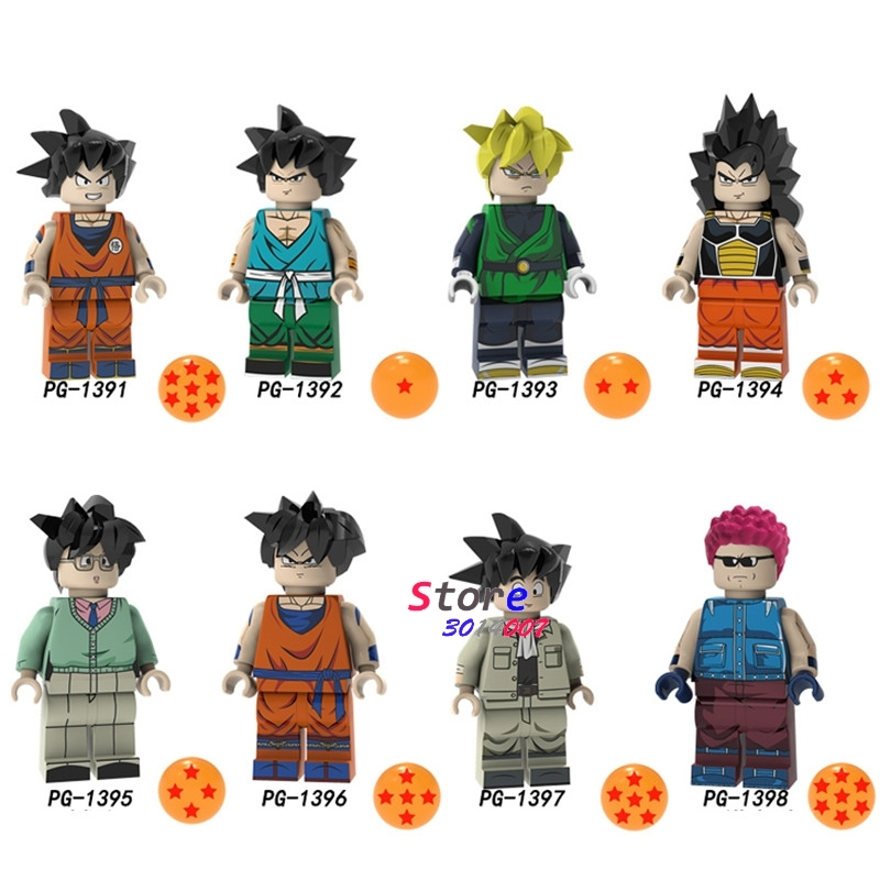Dutiful 50pcs Building Blocks Dragon Ball Son Goku Son Gohan Raditz Lieutenant Arnold Cartoon Series Figure For Children Toys Durable Service Toys & Hobbies
