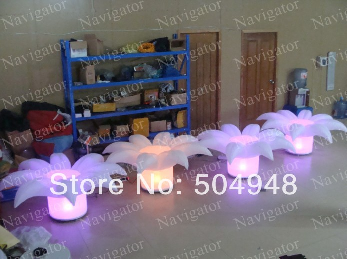 Wedding Party Inflatable Ground Flower