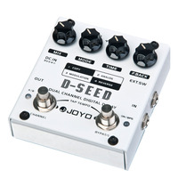 JOYO D SEED Dual Channel Digital Delay Guitar Effect Pedal With Four Modes Free Shipping