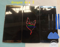 Original Doogee Mix 2 Front Panel Touch Glass Digitizer Screen With LCD Display For Doogee Mix