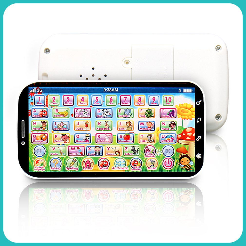Kids Simulator Music Toy Cell Phone Touch Screen Educational Learning Child Gift English Type(China)