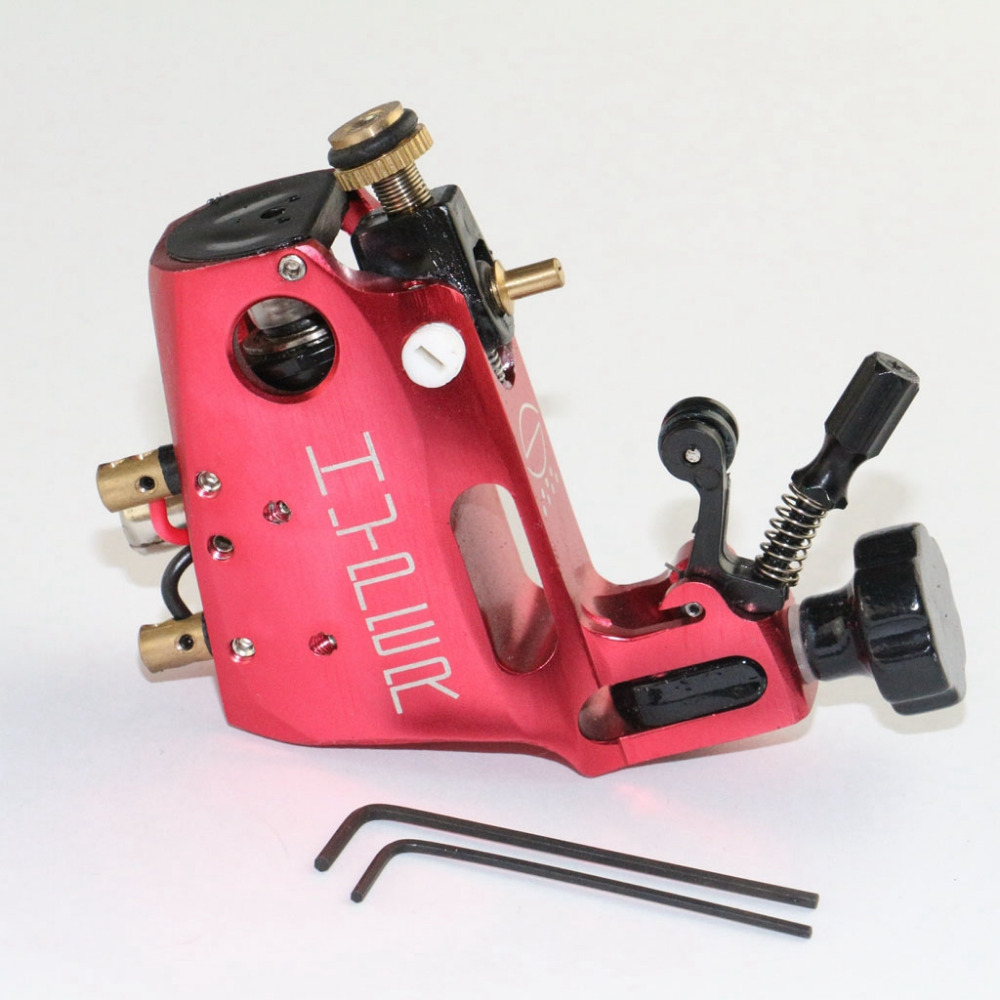 Stigma Hyper V3 Tattoo Machine Red Color For Shader Liner Swiss Motor Tattoo Gun Body Art Supply Free Shipping