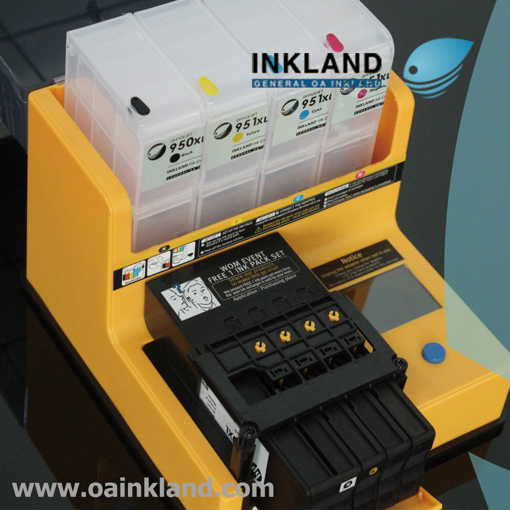 950 Ink Us 70 Auto Refill Ink Machine For Hp 950 951 932 933 960 711 Original And Refillable Cartridges In Printer Parts From Computer Office On