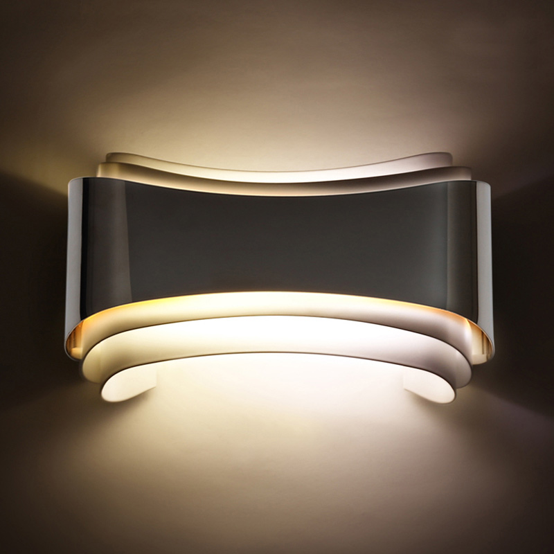modern 5w led wall lights foyer bed dining living room lamp led bathroom lights bedside light indoor wall mounted lamps modern white iron foyer bed room wall lamp dining doom light e27 v110 v240 free shipping