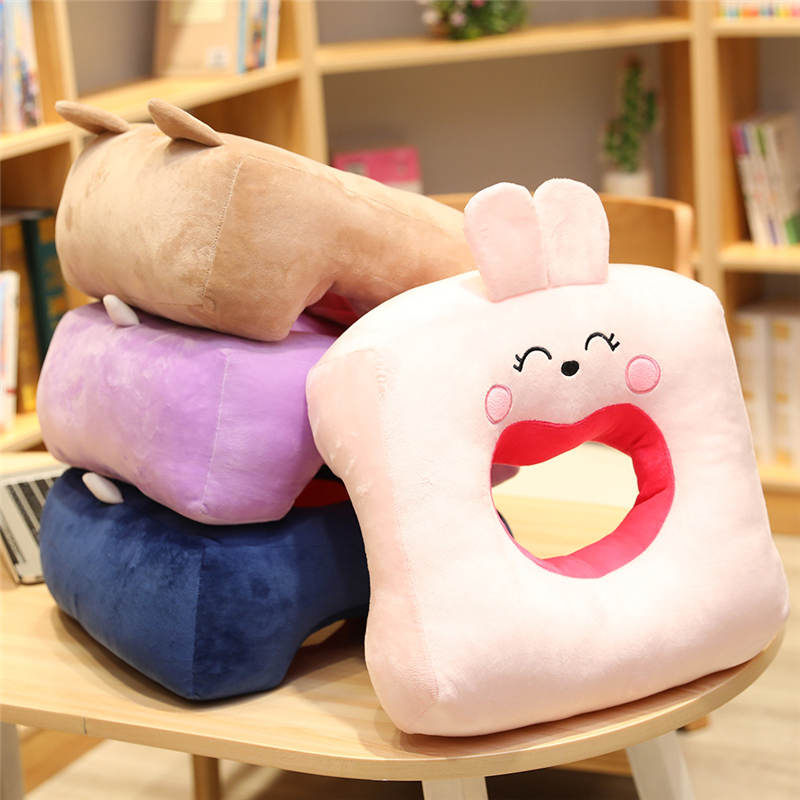 Travesseiro Brinquedos de Pelúcia Macia Pelúcia Boneca