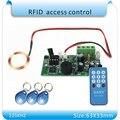 SY-1788 125 KHZ lector RFID sistema de control de acceso de entrada incrustado placa principal/Edificio de acceso de intercomunicación + 10 unids tarjetas
