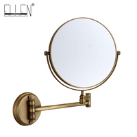 Bathroom Accessories Bath Mirrors Antique Bronze Wall Mounted Magnifier Bathroom Mirrors Bathroom Hardware 80290