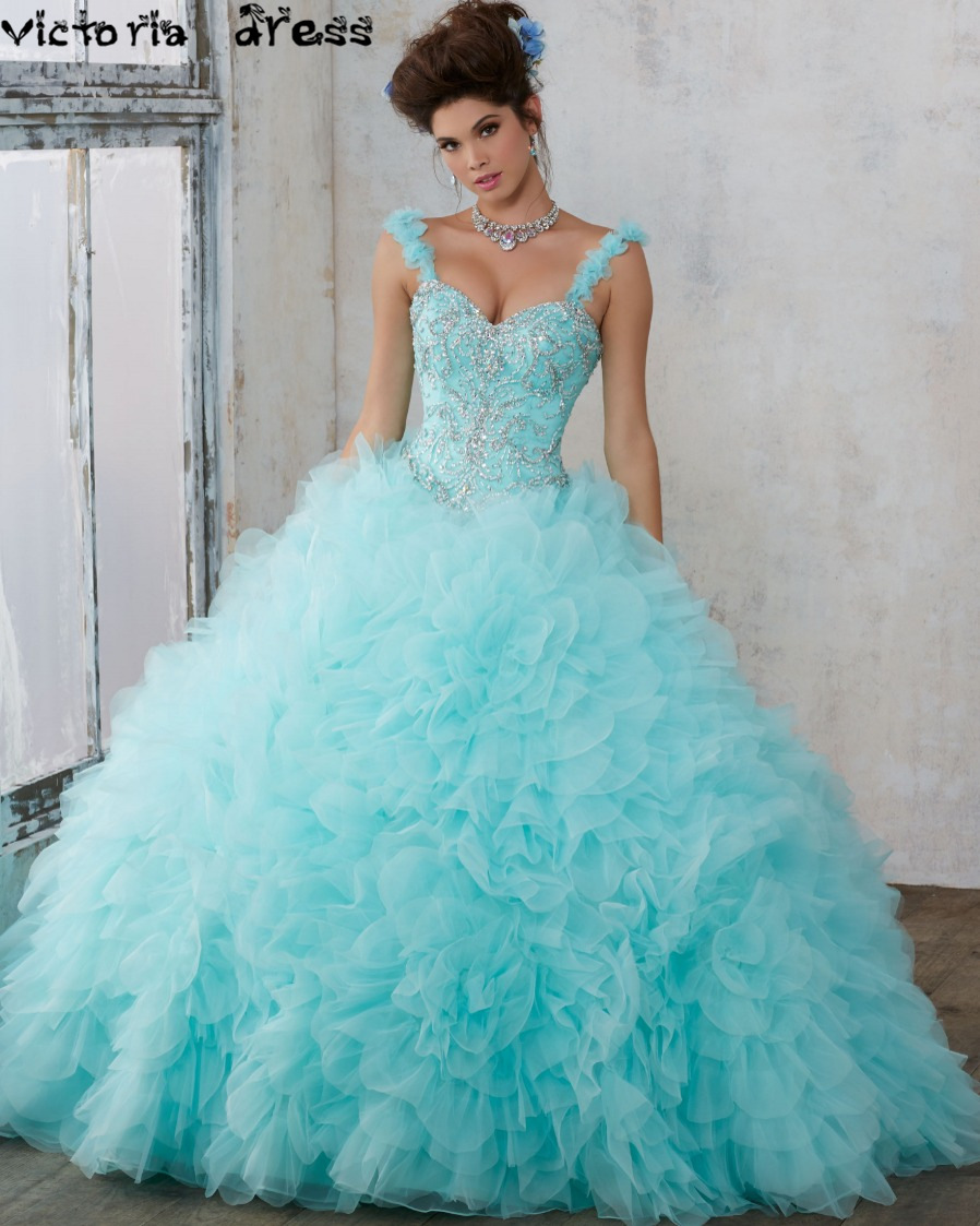 Poofy Turquoise Prom Dresses 2016 – fashion dresses