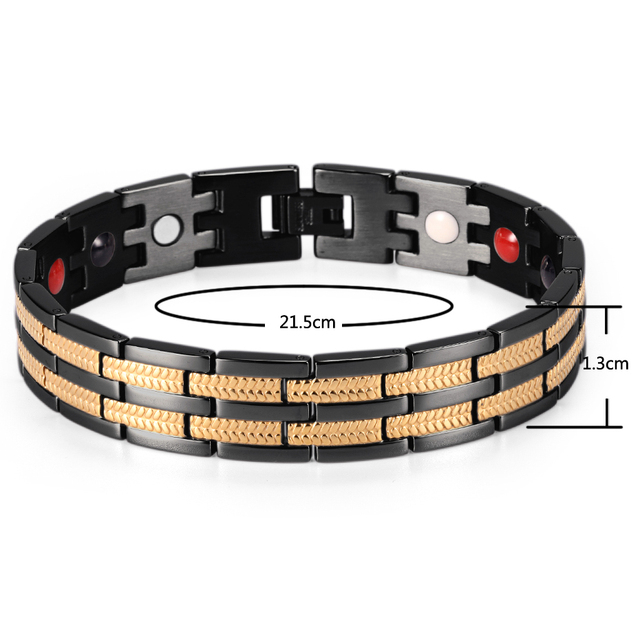Купить магнитный мужской браслет welmag fir повседневный спортивный