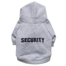 """Pretty """"SECURITY"""" yorkie hoodie"""