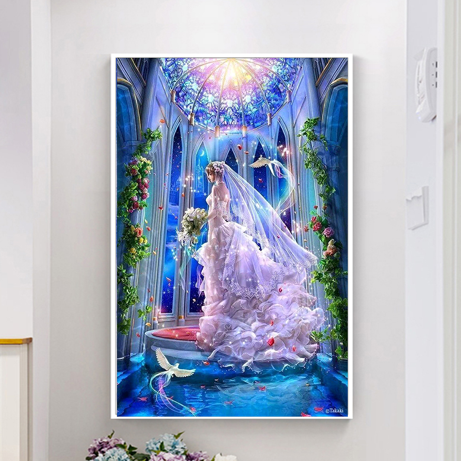 5D DIY diamond painting Cartoon characters New crafts painting diy diamond embroidery kits flower full cross stitch ...