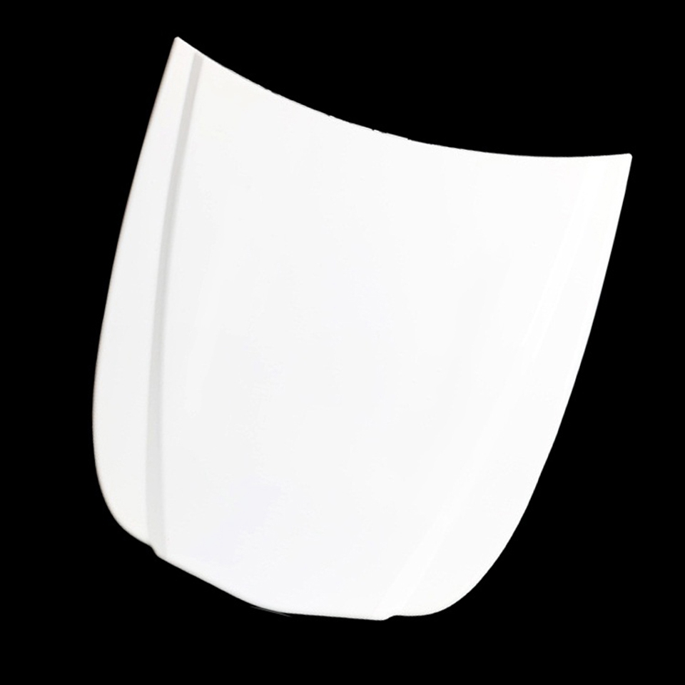 Image 2 - Plastic White Mini Car Bonnet Car Hood Vinyl Display Model Custom Paint Sample Speed Shape With Painted MO 179S 1 10pcs/Lot-in Car Stickers from Automobiles & Motorcycles