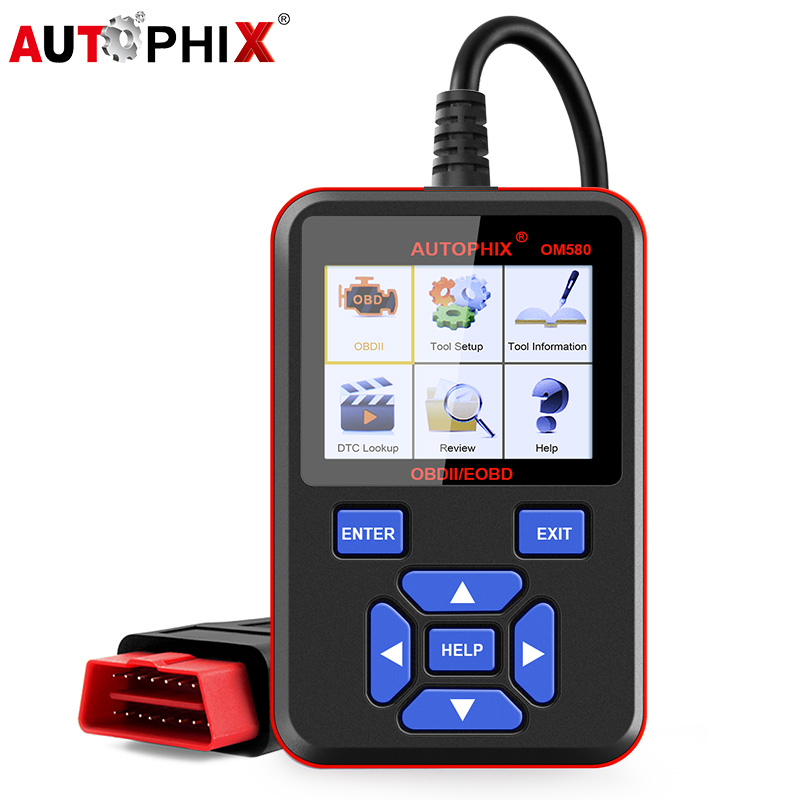Autophix Om580 Obd2 Scanner Odb2 Auto Automotive Diagnostic Scanner for Car OBD2 Obd Car Diagnostics Tool Car Engine Code Reader obd2 eobd diagnostics auto scanner automotive fault code reader diagnostic tool car detector automotive tool konnwei kw830