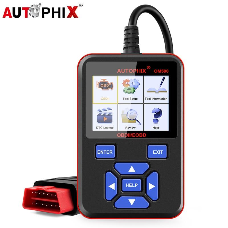 цена на Autophix Om580 Obd2 Scanner Odb2 Auto Automotive Diagnostic Scanner for Car OBD2 Obd Car Diagnostics Tool Car Engine Code Reader