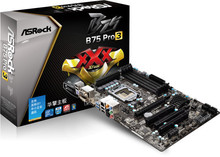 B75 pro3 all solid b75 motherboard perfect SATA3.0 LGA 1155
