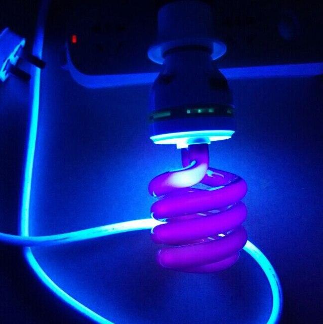 220V E27 40W Ultraviolet UV curing / Blacklight lamp Black Light ...