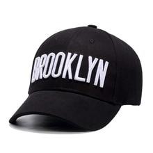 26b3f4cf3c6 Quanhaigou Brooklyn City Embroidered Snapback Script Street Unisex Men Baseball  Caps