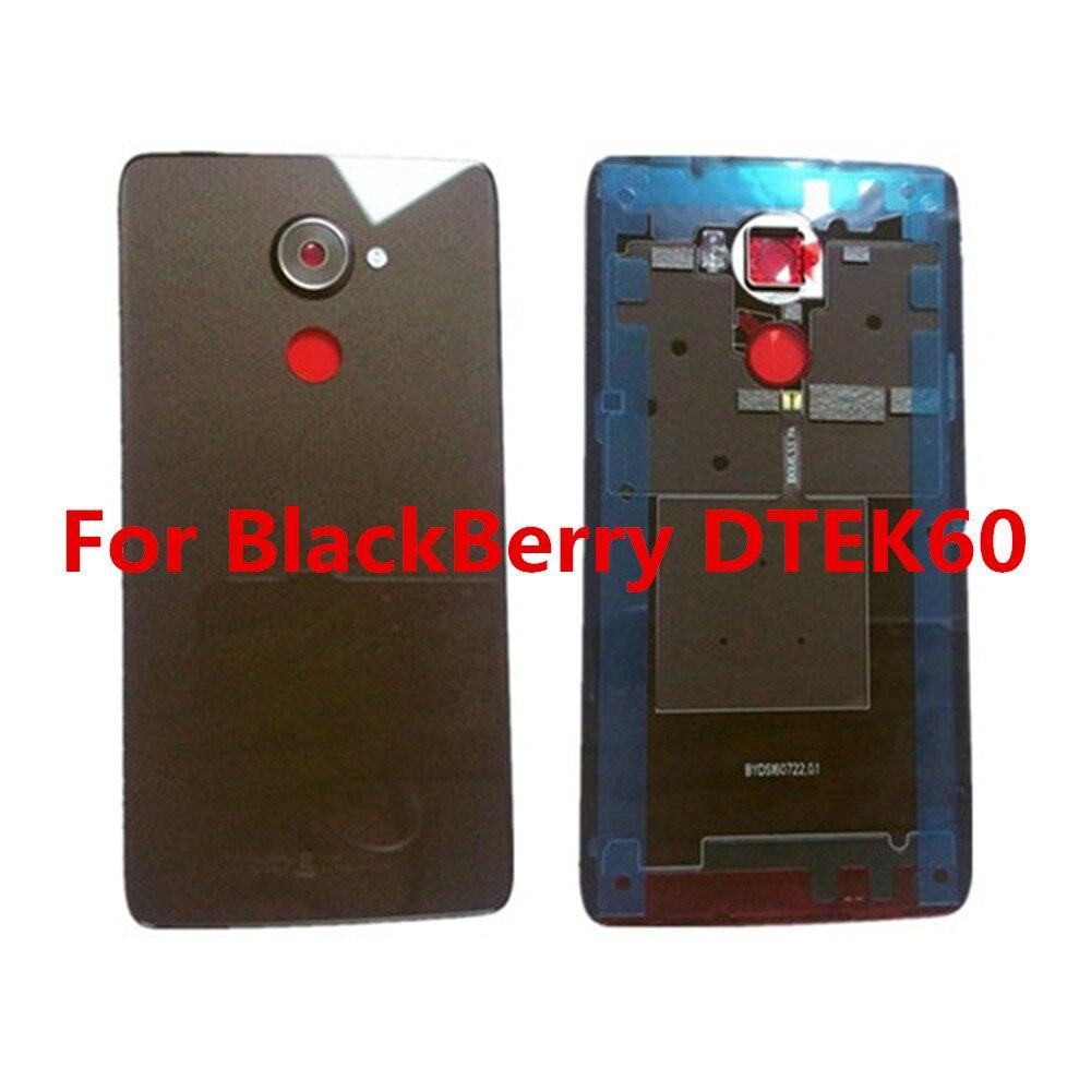 New Original For BlackBerry DTEK60 dtek 60 5 5 Cellphone Metal Frame Housings Battery Cover Case