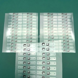 Image 5 - 100pcs Black Sticker For Phone X Xs Xs max LCD Display Sticker Flex Cable Adhesive Glue