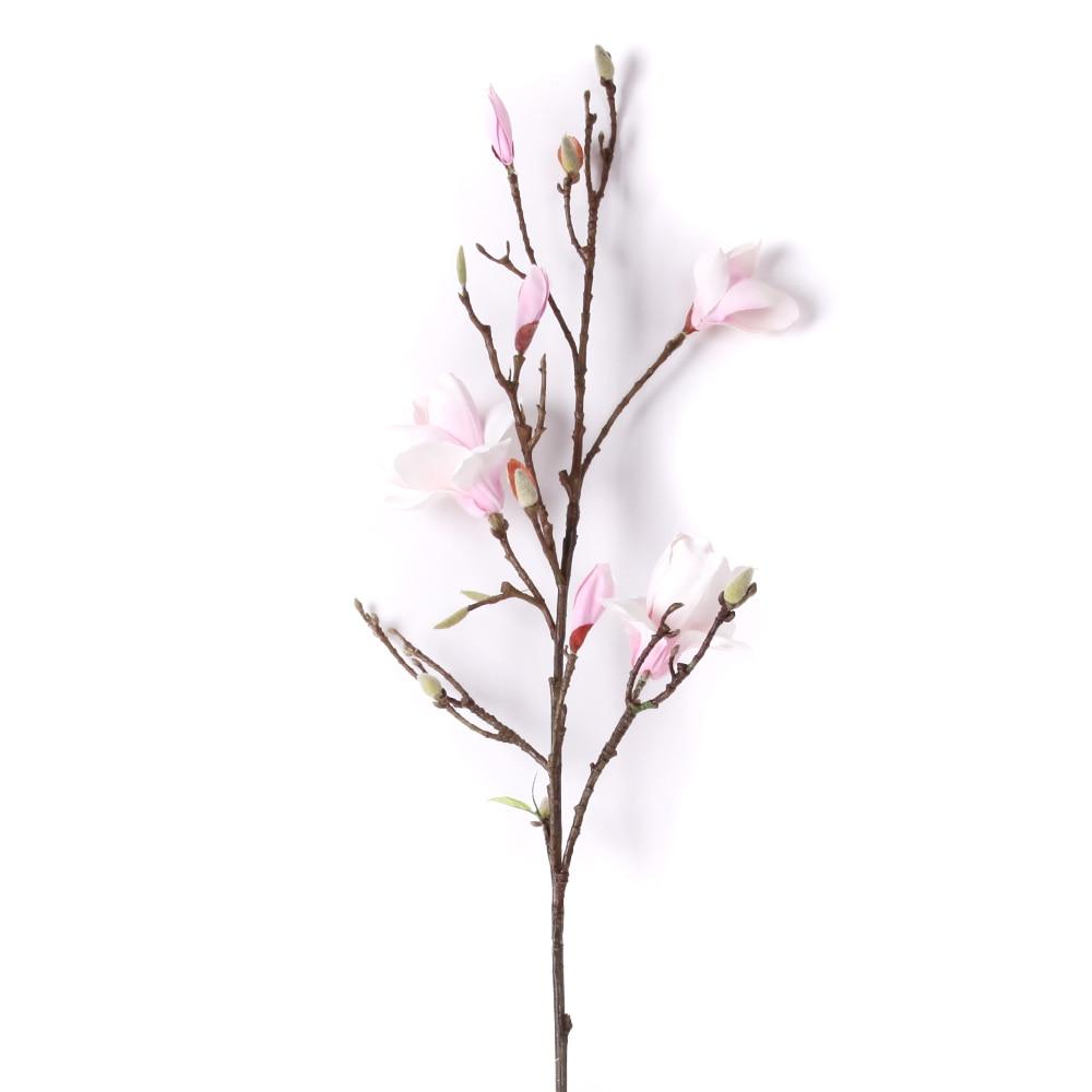 42 artificial magnolia silk flower single stem in pink nearly 42 artificial magnolia silk flower single stem in pink nearly natural in artificial dried flowers from home garden on aliexpress alibaba group mightylinksfo