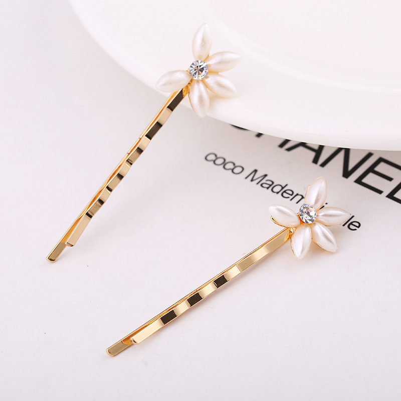 Apparel Accessories New Fashion Women Girls Cute Enamel Starfish Conch Cherry Simulated-pearl Flower Bobby Pins Holiday Ocean Fruit Hairpins
