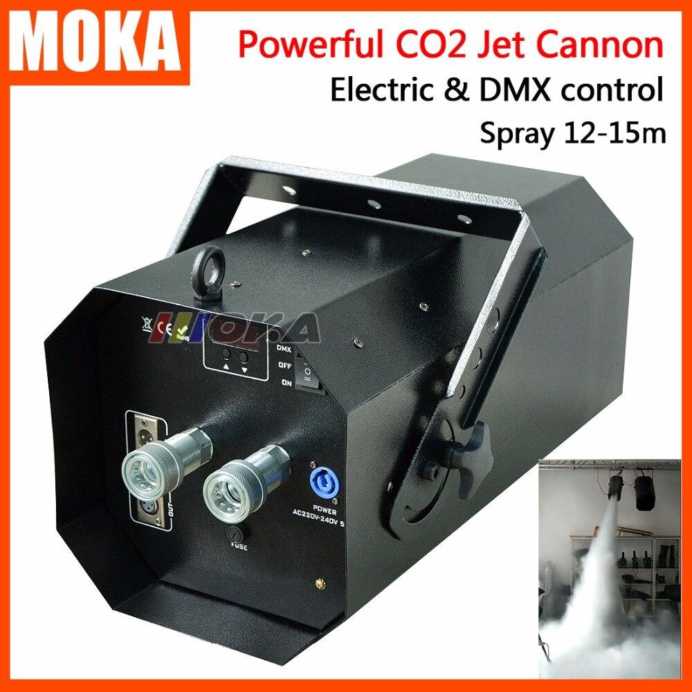1 Pz/lotto Nuova Venuta magia fx co2 jet macchina potente dmx co2 cannon effetto di fase co2 jet per discoteca con 6 m Resina tubo