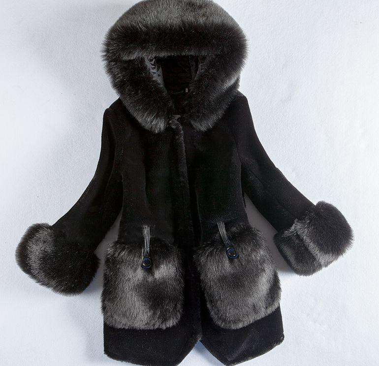 18cd96c005c Buy ladies jacket of fur plus size and get free shipping on AliExpress.com