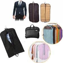472d1a48d9df2 Takım elbise Kapağı Saklama Torbaları Erkekler Toz Geçirmez Askı Coat Giyim  Konfeksiyon Suit Kapak Saklama Torbaları giysi sakla.