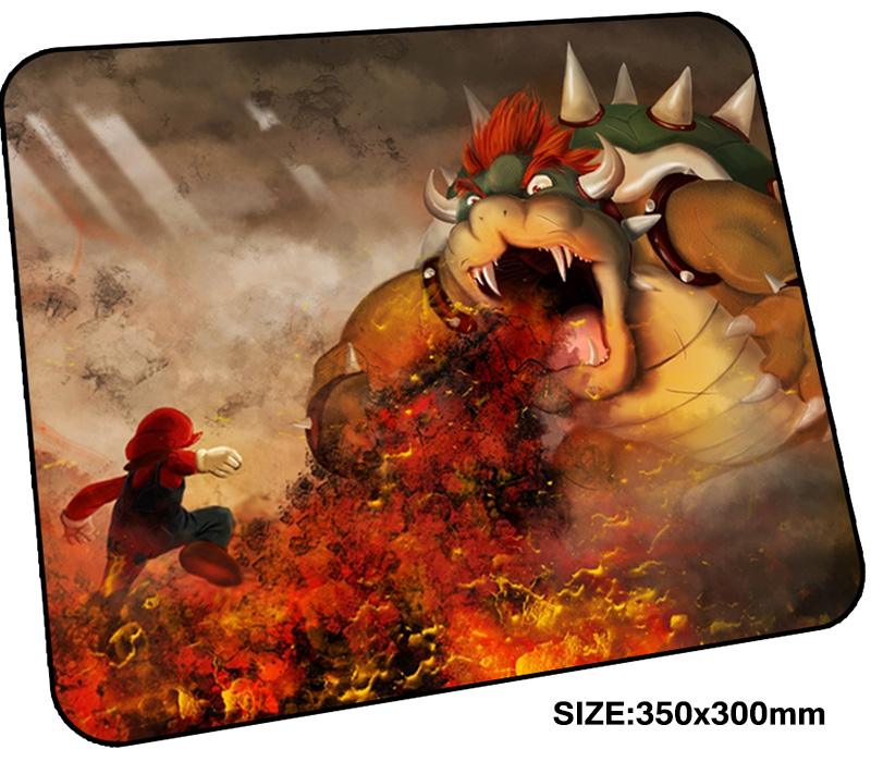 Mario mousepad gamer 350x300x3mm gaming mouse pad New arrival notebook pc accessories laptop padmouse thick ergonomic mat