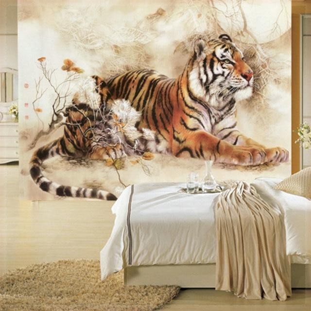 Sof mural tv pared papel tapiz de fondo cl sico acuarela for Papel tapiz estilo mural