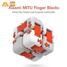 D'origine Xiaomi Mitu Cube Spinner Doigt Briques Intelligence Jouets Portable Intelligent Doigt Jouets pour Xiaomi Cadeau pour Enfant(China)