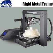 Wanhao duplicator i3 V2.1 DIY 3D принтер, обновление высокое качество точность DIY Kit, металлический каркас RepRap комплект с бесплатными нитей