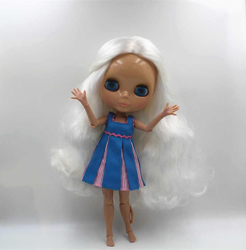 จัดส่งฟรีBJDร่วมRBL-409J DIYเปลือยตุ๊กตาไบลท์ของขวัญวันเกิดสี4สาวตุ๊กตาดวงตาขนาดใหญ่ที่มีผมสวยน่ารักของเล่น
