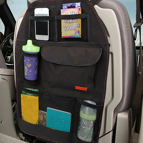 New Arrival Convenient Car Seat Back Organizer Multi-Pocket Storage Bag Box Case