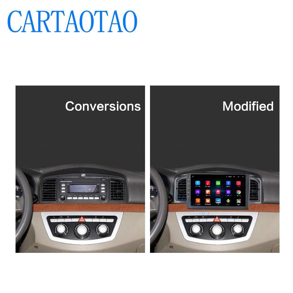 Voiture navigation 9 pouces Android 6.0 quad core soutien miroir lien DAB 2DIN voiture radio multimédia vidéo lecteur pour Lifan 620/Solano - 2