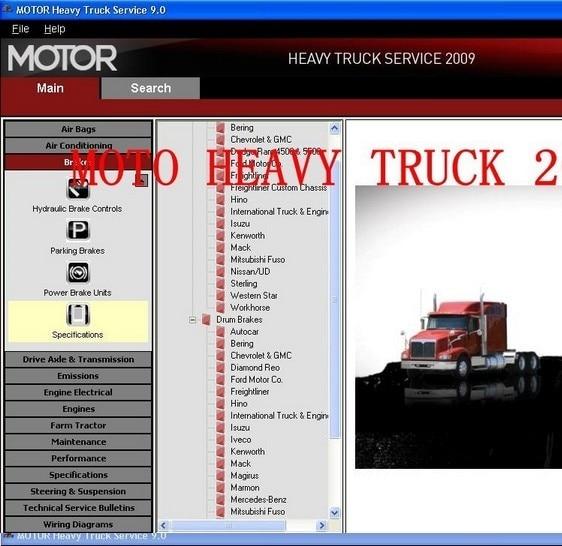 Motor Heavy Trucks Service 2009 service manual for trucks
