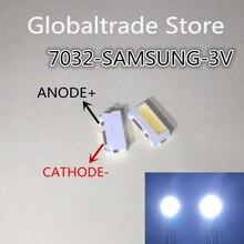10 pezzi LED SMD Retroilluminazione TV 3535 3V 300mA 1,25W Per TV Samsung 100 LM