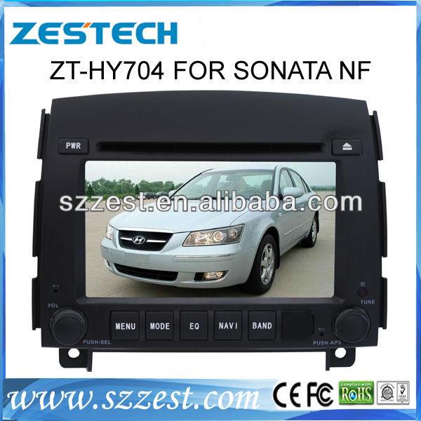 ZESTECH Car Auto Multimedia DVD Player for Hyundai Sonata NF Car GPS player with BT IPOD