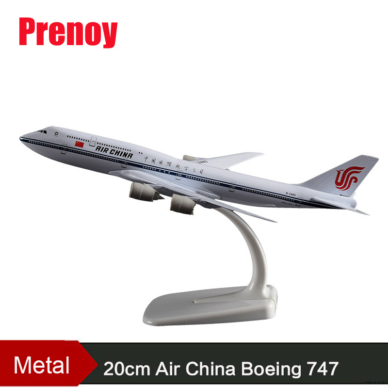 20cm Air China B747 National Metal Aircraft Model Boeing 747 China Airplane Model Aviation Plane Chinese Collection Boeing 747 image