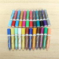 KiWarm Best Promotion 12 24 Colors Wax Crayon Pen With Gift Box Oil Painting Stick Pastel