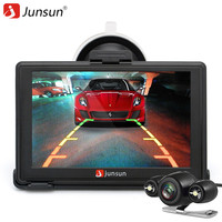 Junsun D100S 7 Inch Car 3D Vehicle GPS Navigation Mointor Bluetooth Rearview Camera Free Map Touch
