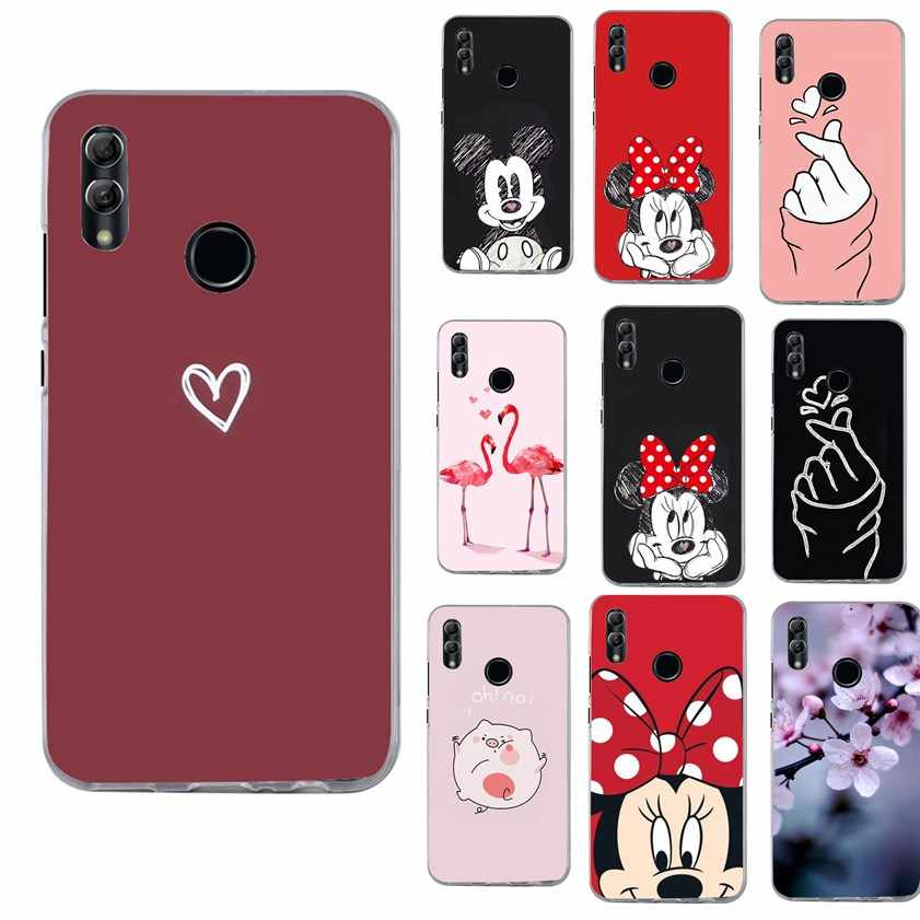 Cover For Huawei P Smart 2018 2019 Case Mickey For Funda Honor 7A 5.45 Inch Y5 Y6 Prime 2018 Mate 10 Lite P 20 P20 P30 Lite Case
