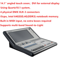 Titan 10.0/10.1 System Quartz Console DMX 512 Controller Flight Case Packing For Party Wedding Professional Lighting Shows
